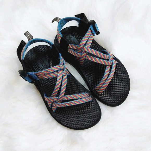 6f13a2bde480 Chaco Other - Chacos girls athletic sandals size 1 blue pink